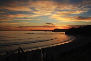CLiff top - smith beach sunset