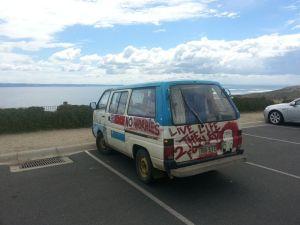 _graffiti van